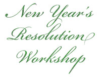 new year's resolution workshop