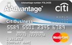 CitiBusiness® : AAdvantage® World MasterCard®