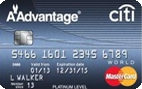 iti® Platinum Select® : AAdvantage® World MasterCard®