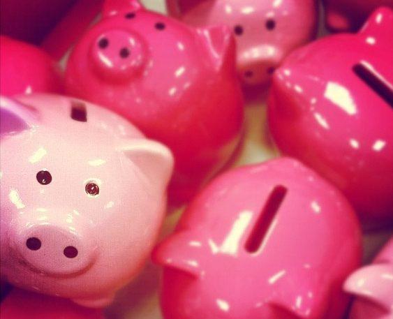 piggy banks - credit union vs bank