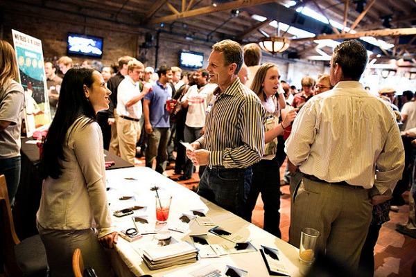 Tech Cocktail networking event in Chicago