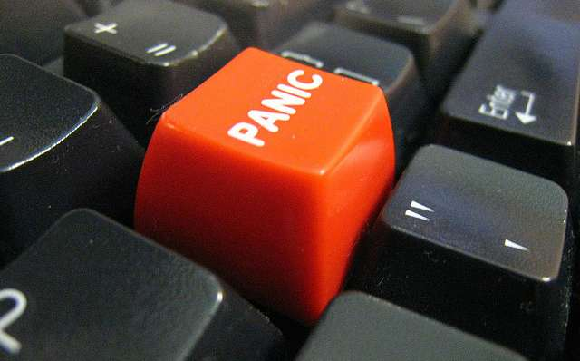 panic button on keyboard