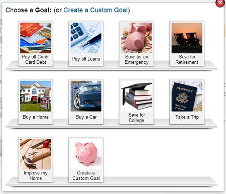 Mint.com debt tool