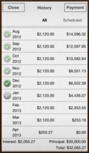 Debt control free app