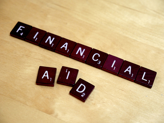 Let's spell this out: If you want financial aid for college, you need to go through FAFSA. Photo: Simon Cunningham