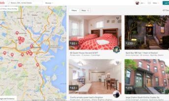 Airbnb listings in Boston