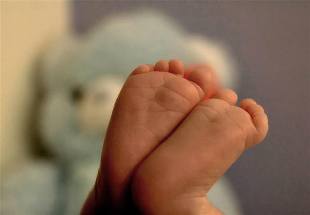 Baby toes. Photo: Gabi Menashe