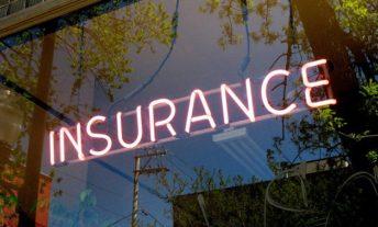 insurance neon sign