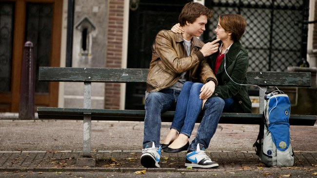 Publicity still from The Fault in Our Stars,