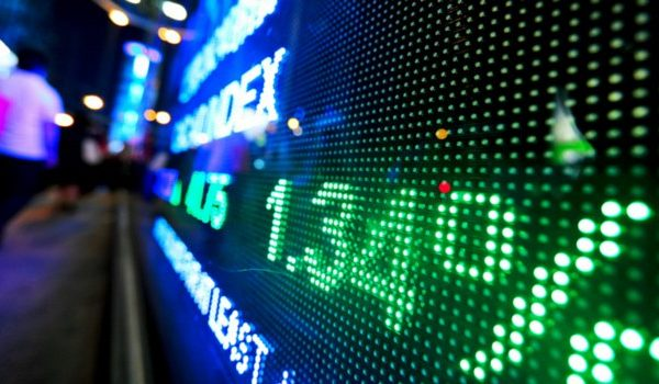 stock price displays on digital display - best day trading platform