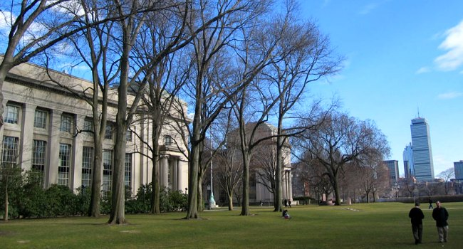 MIT campus, photo by David Wiley: https://www.flickr.com/photos/davidwiley/