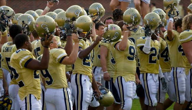 Georgia Tech football team ca. 2006