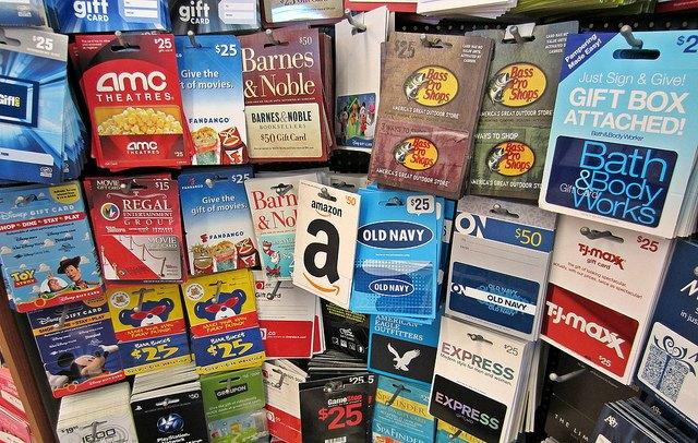 Gift card kiosk