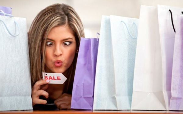 Compulsive shopper