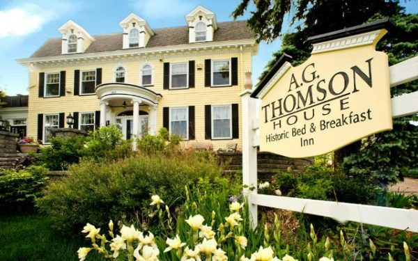 A.G. Thomson House B&B in Duluth, Minn.