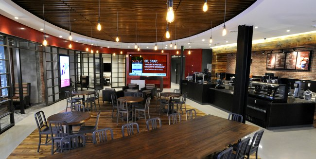 Capital One 360 cafe in Boston