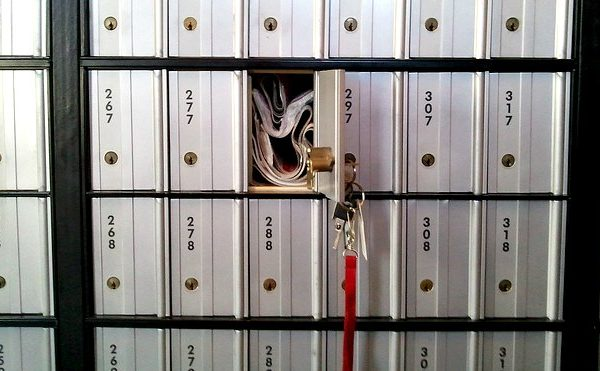 PO Box left unlocked - credit fraud alert