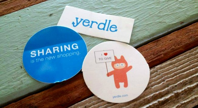 yerdle stickers