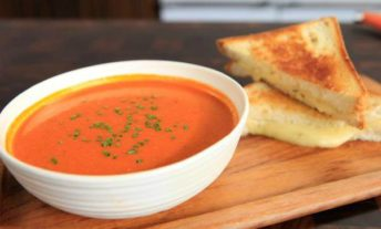 grilled cheese and tomato soup - our favorite easy and cheap meals