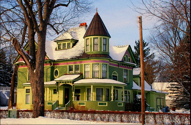 queen anne victorian in michigan