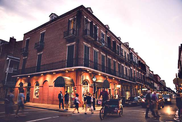 New Orleans street corner