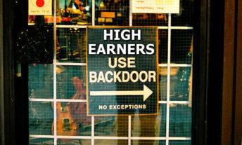 high earners use backdoor sign