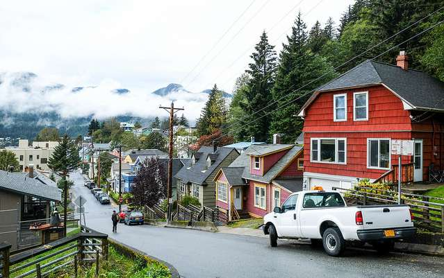 homes in Juneau, Alaska - homeowners insurance