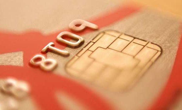 chip enabled EMV credit card