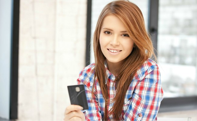 teen as an authorized credit card user
