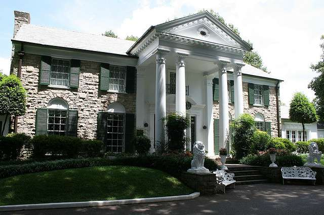Graceland in Memphis, TN - tennessee homeowners insurance