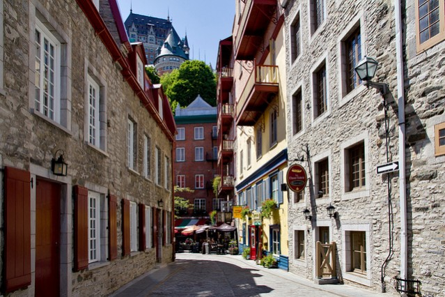 quebec city - cheap honeymoon destinations