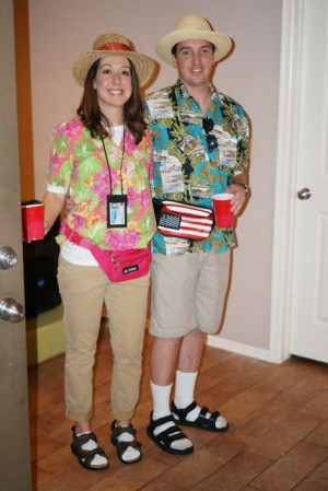 cheap halloween costumes - tourists