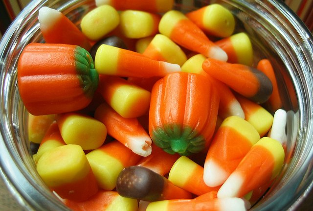 candy corn worst halloween treat