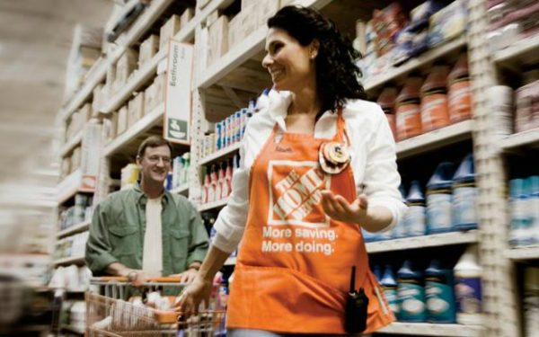 home depot employee - part-time job can help you get out of debt