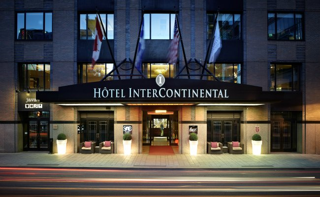 IHG rewards club points can be redeemed at Intercontinental hotels like this one, as well as Holiday Inn and Crowne Plaza