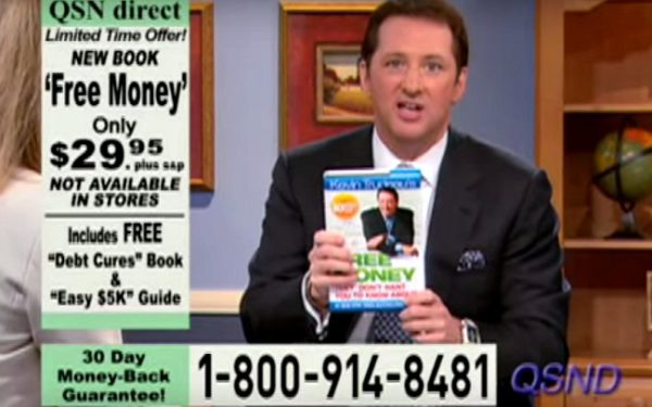 convicted fraudster kevin trudeau pitches his book on an infomercial