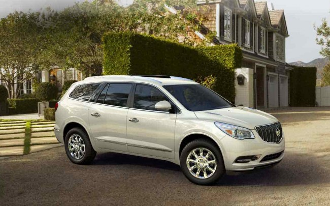 best affordable large suv buick enclave