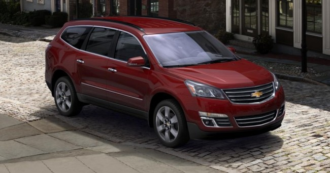 affordable suvs - chevy traverse