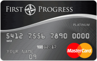 First Progress Platinum Select MasterCard® Secured Credit Card Logo
