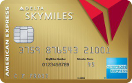Gold Delta SkyMiles® Credit Card from American Express Logo