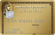 The Business Gold Rewards Card from American Express OPEN Logo
