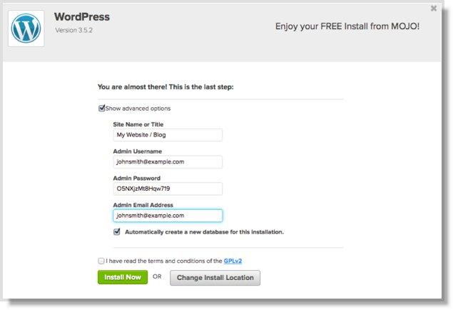 how to start a blog tutorial screenshot