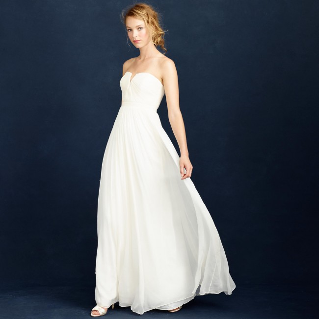 cheap wedding dresses from jcrew