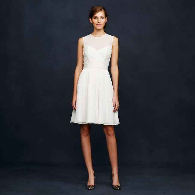cheap wedding dress from j.crew