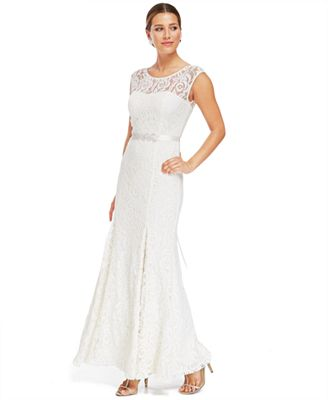 affordable bridal gowns - macy's wedding dress