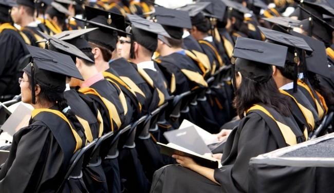 graduation at Johh Hopkins