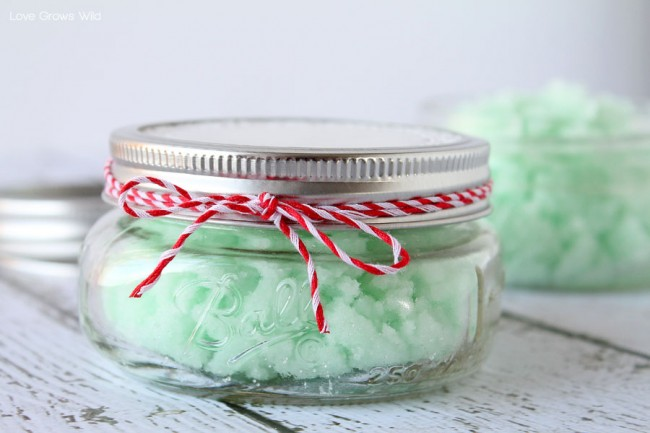 diy gift ideas spa in a jar