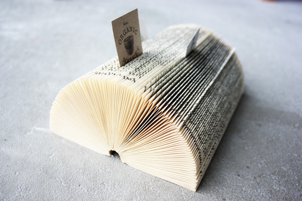 book business card holder cheap diy gift ideas