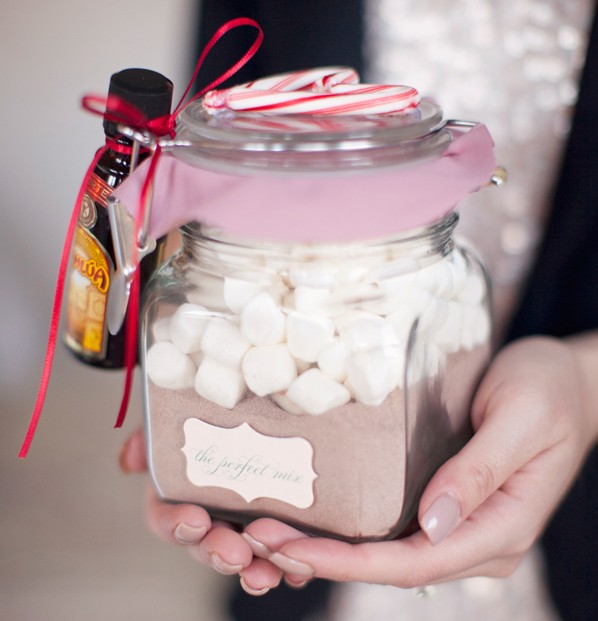 diy gift hot chocolate