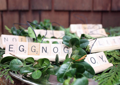 scrabble ornament diy gift ideas